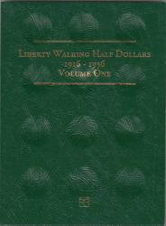 Littleton Folder LCF11: Liberty Walking Half Dollars, 1916-1936