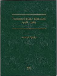 Littleton Folder LCF09: Franklin Half Dollars, 1948-1963