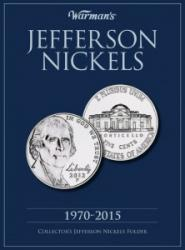 Warman's Folder Jefferson Nickels 1970-2015