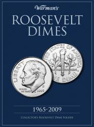 Warman's Folder Roosevelt Dimes 1965-2009