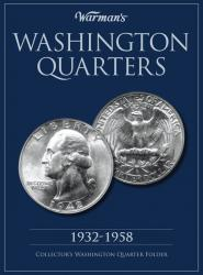 Warman's Folder Washington Quarters 1932-1958