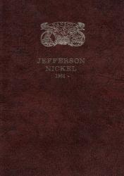 Dansco All-In-One Coin Folder: Jefferson Nickel 1964-Date