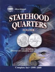 Whitman Folder Official Statehood Quarter Folder