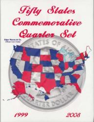 Edgar Marcus Folder 50 State Quarters Date Set
