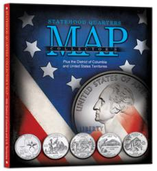 Whitman Statehood Quarters Collector's Map
