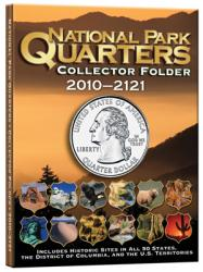 Whitman National Park Quarters Collector Folder