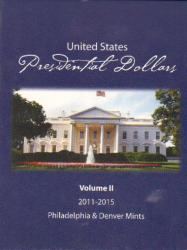 HECO Presidential Dollar P&D Folder Vol. 2 2011-2015