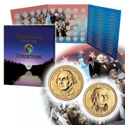 FCM Presidential Dollar Date Set Folder
