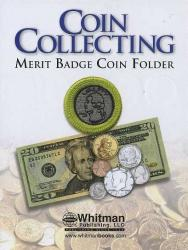 Whitman Coin Collecting Merit Badge Folder