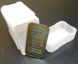 Coin Safe Square Tubes, Silver Bars