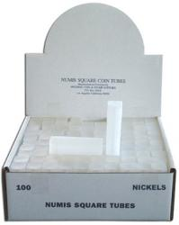 Numis Square Tubes, Nickel Size