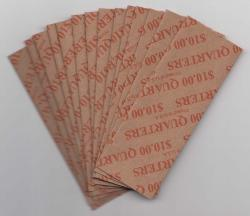 Flat Coin Wrappers - Quarter Size