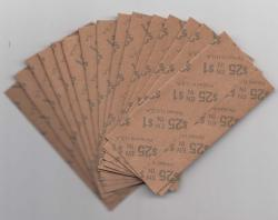 Flat Coin Wrappers - Loonie Size