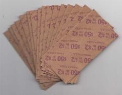 Flat Coin Wrappers - Twoonie Size