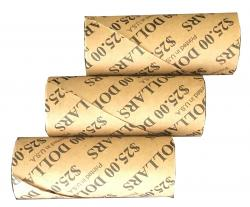 Preformed Coin Wrappers - Small Dollar Size