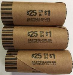 Preformed Coin Wrappers - Canada Loonie / US Small Dollar Size