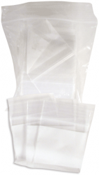 Zip Lock Bags  - 1x1 - Bag of 100
