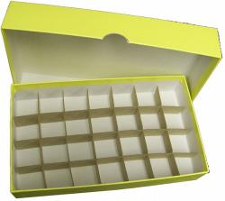 Half Dollar Tube Storage Box (Yellow)