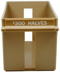 Large Capacity Plastic Tray for Half Dollar Rolls