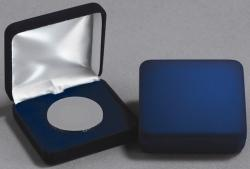 Air-Tite Blue Velvet Steel Box -- A Size