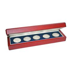 Medium Customizable Wood Multiple Coin Case (up to 6 coins)