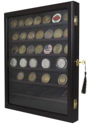 Guardhouse Lockable Wall Mounted Coin Display