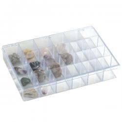 Plastic Organizer -- 24 Large Compartments