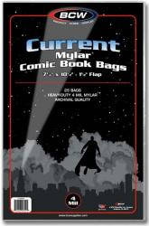 BCW Current Mylar Comic Book Bags (4 mil) -- Pack of 25