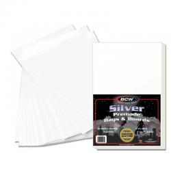 BCW Silver Comic Premade Bags and Boards