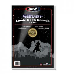 BCW Silver Comic Backing Boards
