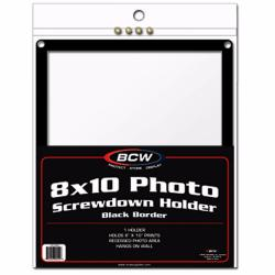 BCW Screwdown Holder -- 8x10 Photo