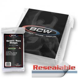 BCW Team Set Bags -- Pack of 100