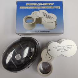 Jewelry Magnifier with LED, 40X