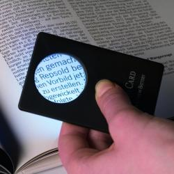 Lighthouse Credit Card Size Wallet Magnifier, 3X
