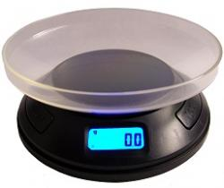Round Professional Digital Pocket Scale (400  x .1 g)