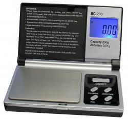 Professional Digital Pocket Scale (200  x .01 g)