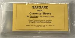 Safgard Currency Sleeves - Modern