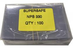 Supersafe Standard Weight Currency Sleeves - Fractional