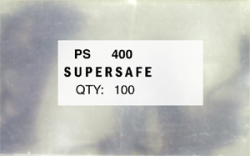 Supersafe Standard Weight Philatelic Sleeves - Approval Cards