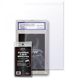 BCW Resealable Bags for Graded Cards/GSAs -- 3 3/4 x 5 1/2