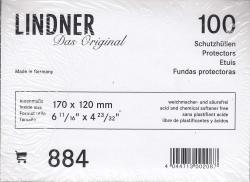 Lindner Philatelic Sleeves -- Euro DIN C6 Envelopes