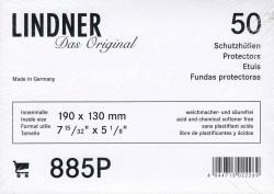 Lindner Philatelic Sleeves -- Larger Euro Covers