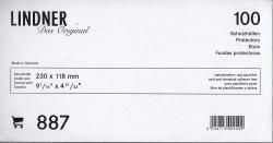 Lindner Philatelic Sleeves -- Euro #10 Envelopes