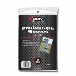 BCW Photo Sleeves -- 4x6 -- Pack of 100