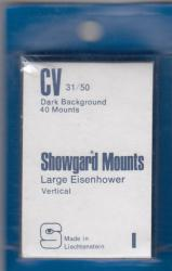 Showgard Stamp Mounts: CV (31/50)