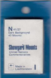 Showgard Stamp Mounts: N (41/27)