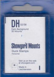 Showgard Stamp Mounts: DH (52/36)