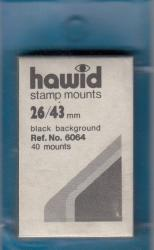 Hawid Stamp Mounts: 26x43