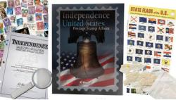 HE Harris Independence (Intermediate) United States Stamp Album Kit
