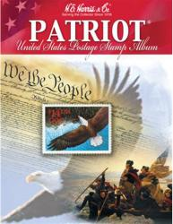HE Harris Junior Stamp Album  -- Patriot (US)